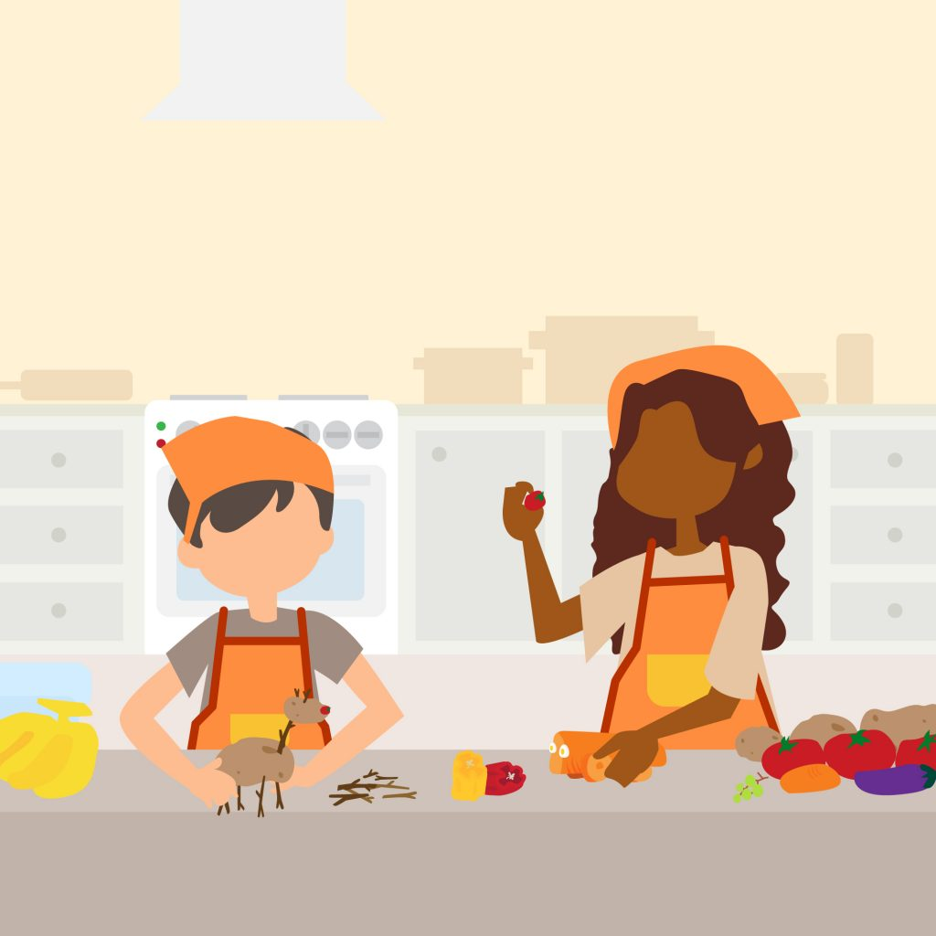Link n Learn - Just us - Cooking Class - Creative Cooking