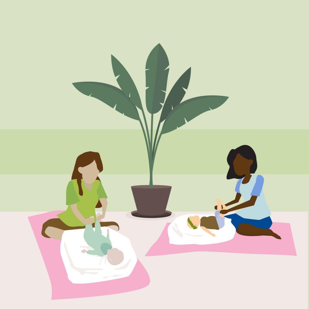 Link n Learn - Mommy & Me - Babymassage