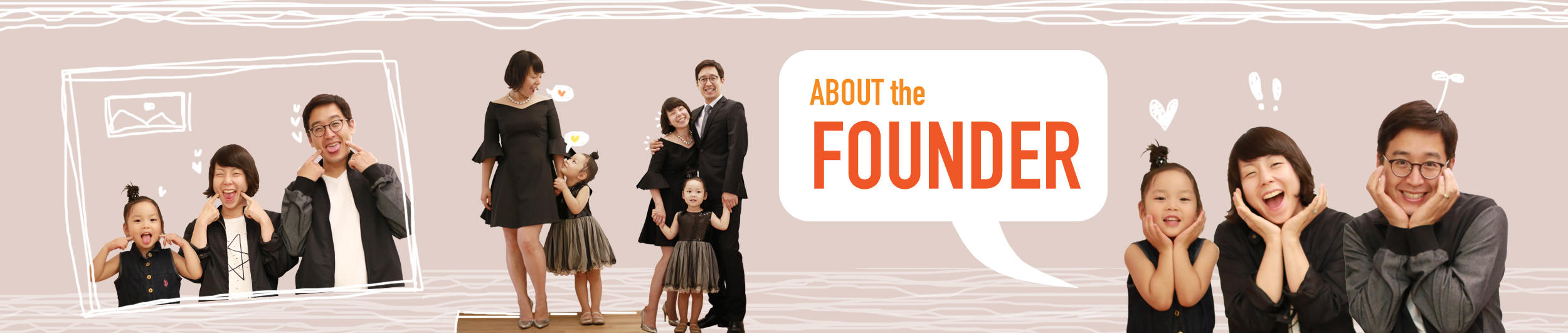 Link n Learn - About The Founder - Banner