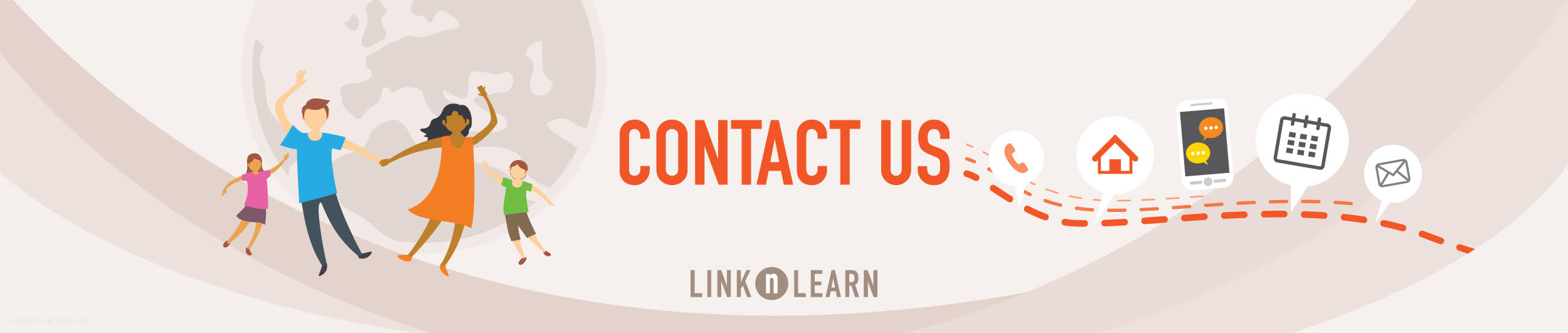 Link n Learn - Contact Us - Banner