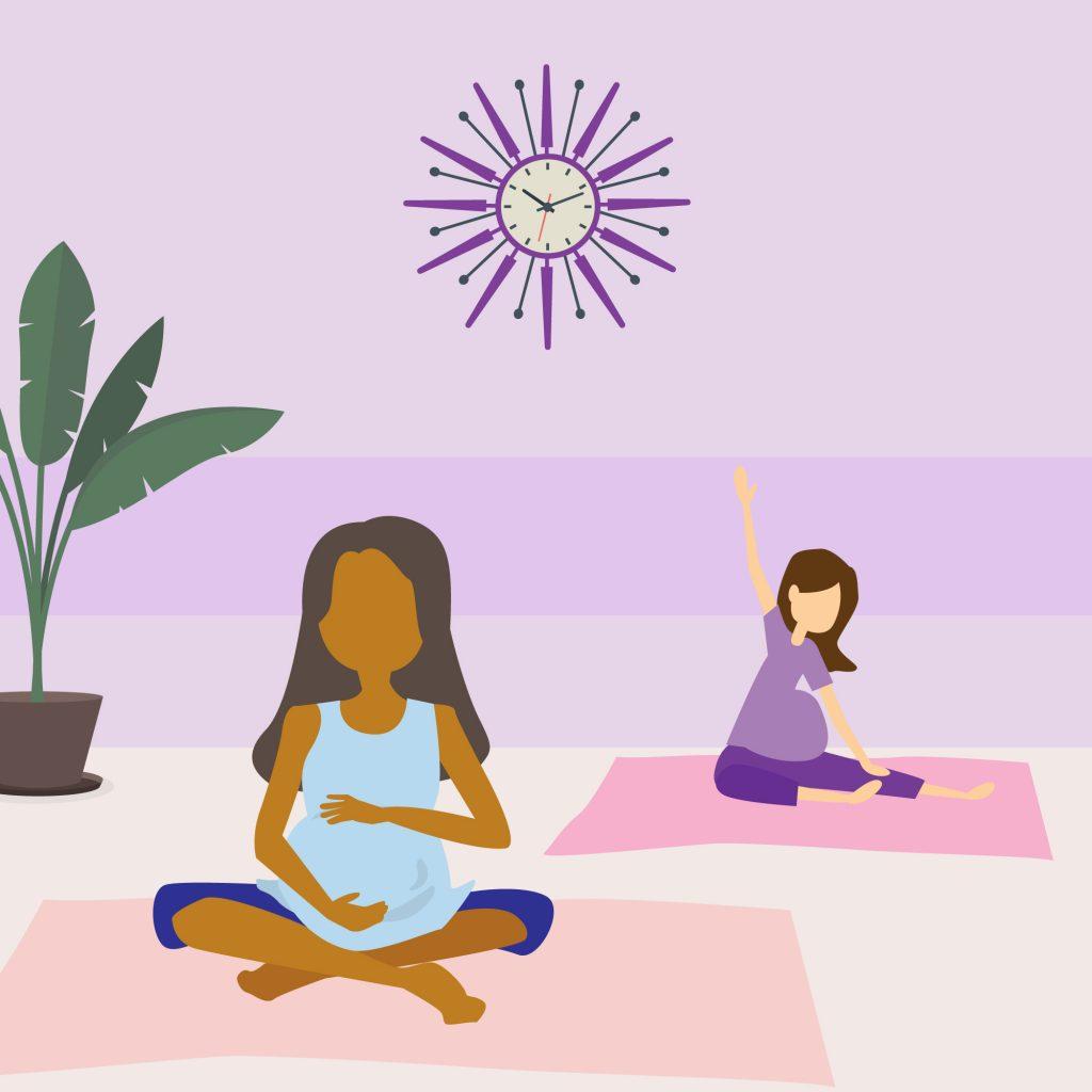 Link n Learn - Expectant Mom - Pre-Natal Yoga
