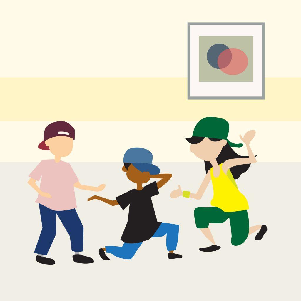 Link n Learn - Just Us - Dancing - Hip Hop