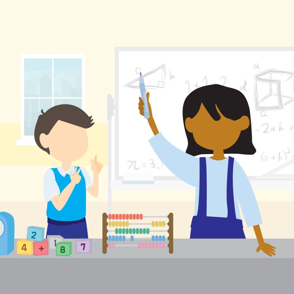 Link n learn - just us - Math Science Class - Fun Math Magic