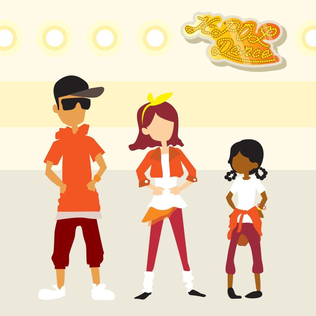 Link n Learn - Just Us - Dancing - K Pop