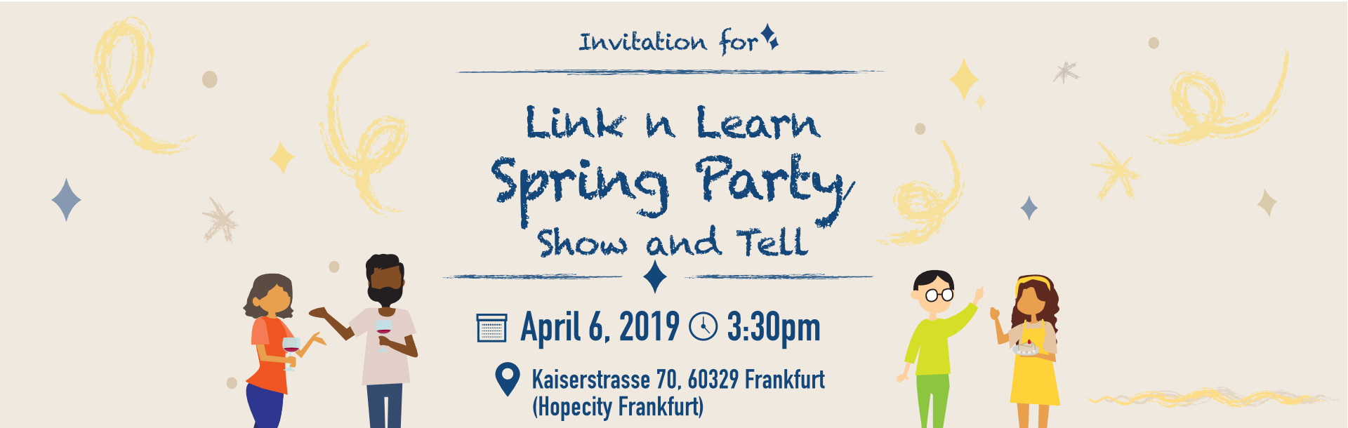 Link n Learn Spring Show and Tell